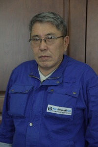 Abat Islyamov: a hard working man is always revered at a refinery...