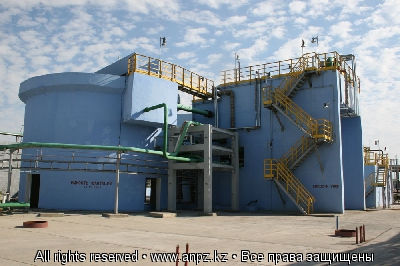 Biological wastewater treatment Unit