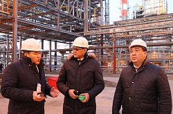 Working visit of state inspector of Administration of the President of the Republic of Kazakhstan Ermek Alpysov on Atyrau region
